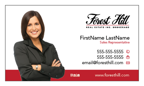 Forest Hill Business Cards - 004
