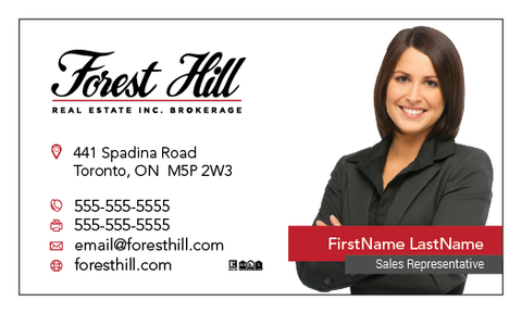 Forest Hill Business Cards - 005