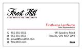 Forest Hill Business Cards - 007