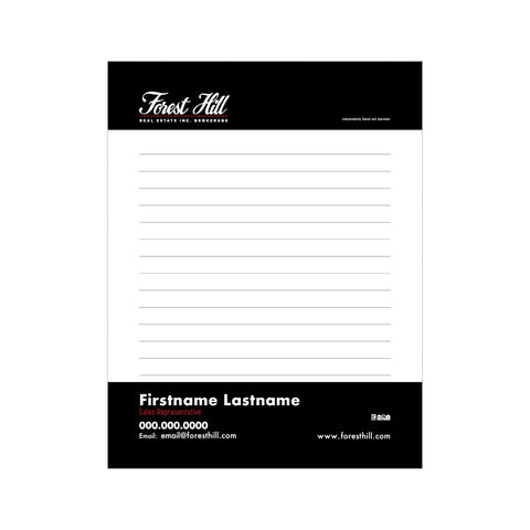 "Forest Hill Notepads - 4.25"" x 5.5"" - Quarter Page 1"