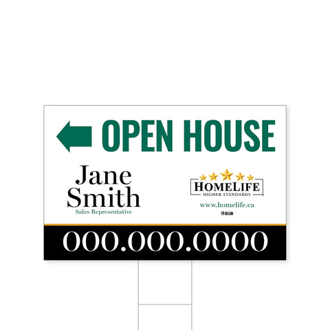 HomeLife Directional Signs - 3