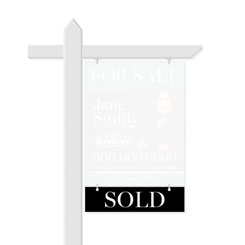 HomeLife Rider Signs - Sold