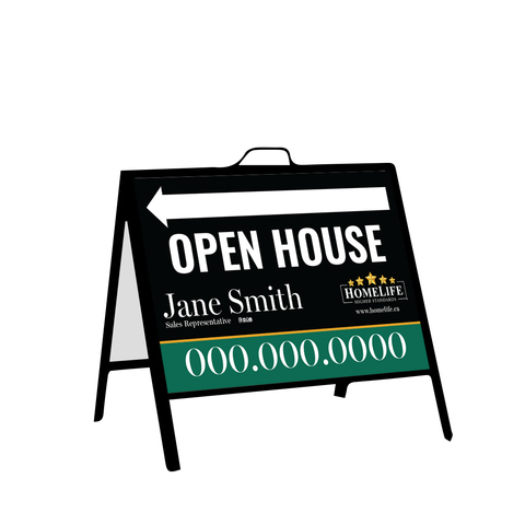 HomeLife Open House Signs - Inserts - 002
