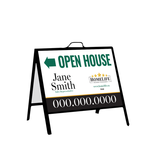 HomeLife Open House Signs - Inserts - 003