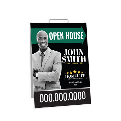 HomeLife Open House Signs - Sandwich Board - 001