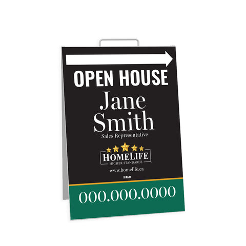 HomeLife Open House Signs - Sandwich Board - 002