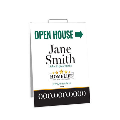 HomeLife Open House Signs - Sandwich Board - 003
