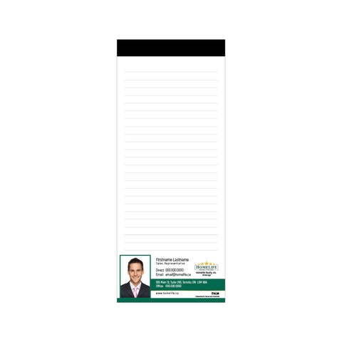"HomeLife Notepads - 3.5"" x 8.5"" - Slim 2"