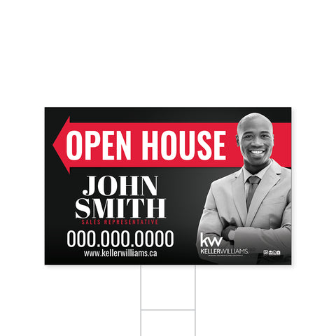 Keller Williams Directional Signs - 1