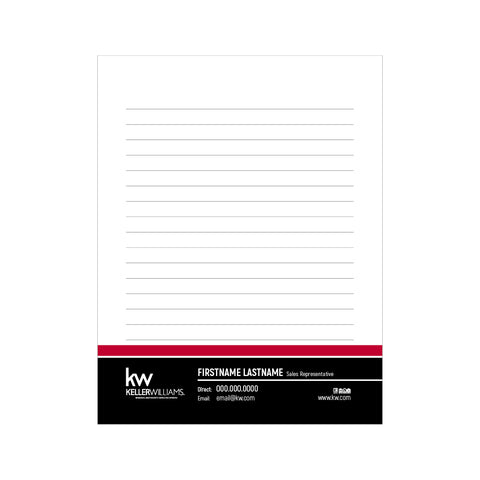 "KW Notepads - 4.25"" x 5.5"" - Quarter Page 3"