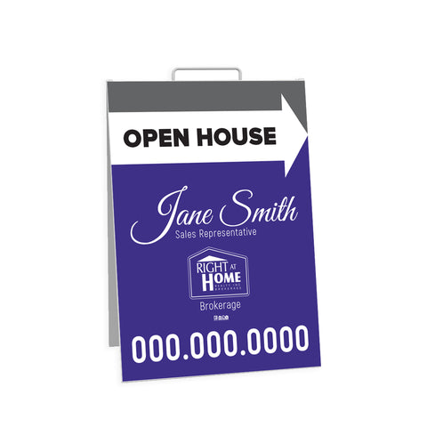 RAH Open House Signs - Sandwich Board - 001