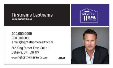 Right At Home Business Card Template - RAH-008