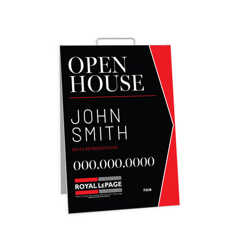 RLP Open House Signs - Sandwich Board - 003