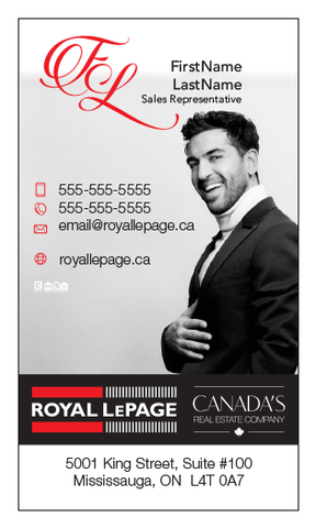 Royal LePage Business Card Template - RLP-011