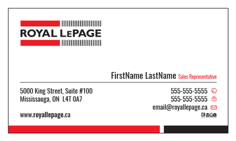 Royal LePage Business Cards - 002