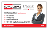 Royal LePage Business Cards - 003