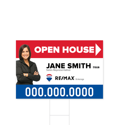 Remax Directional Signs - 2