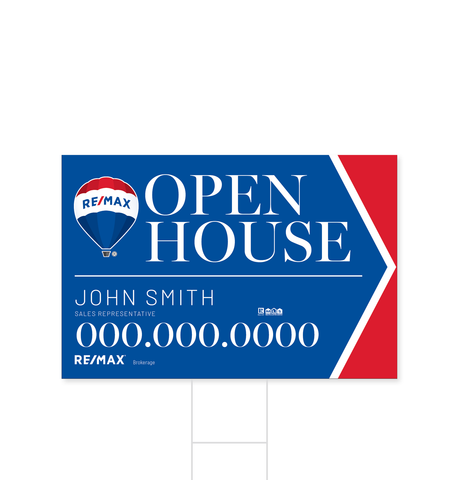 Remax Directional Signs - 3
