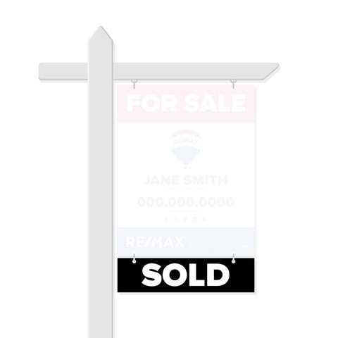 Remax Rider Signs - Sold