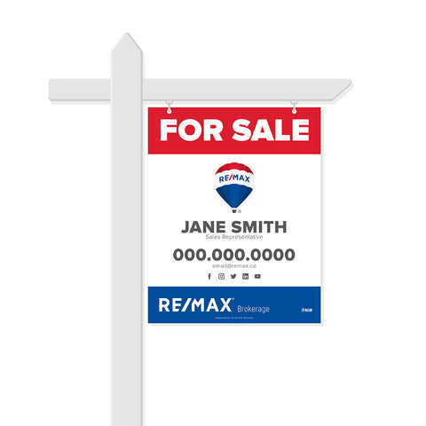 Remax For Sale Signs - 003