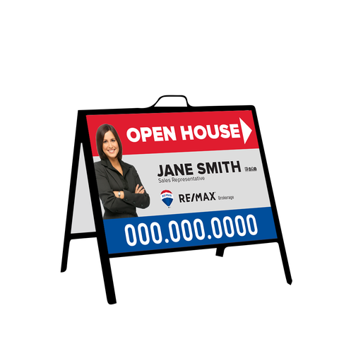 Remax Open House Signs - Inserts - 002