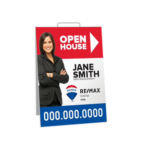 Remax Open House Signs - Sandwich Board - 002