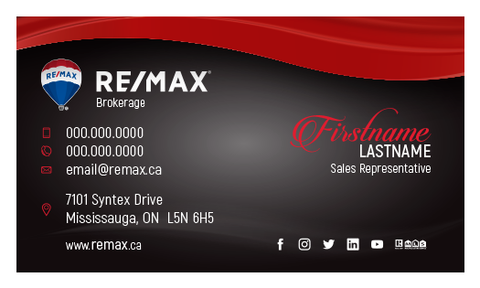 Remax Business Cards - 006