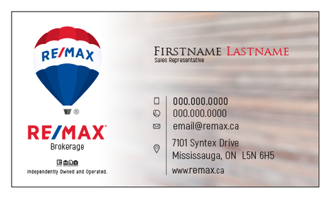 Remax Business Cards - 002