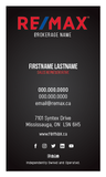 Remax Business Cards - 009