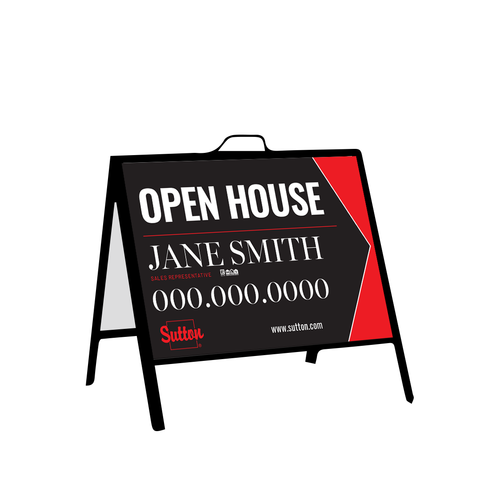 Sutton Open House Signs - Inserts - 003