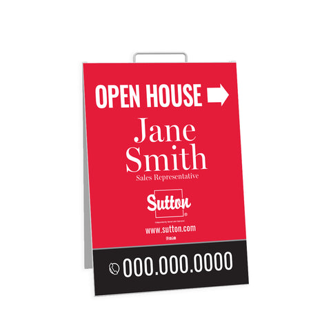 Sutton Open House Signs - Sandwich Board - 002