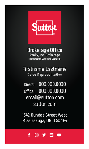 Sutton Business Cards - 010