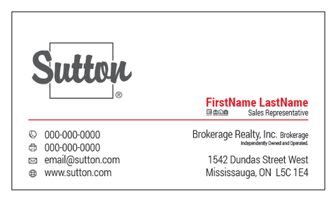 Sutton Business Cards - 004