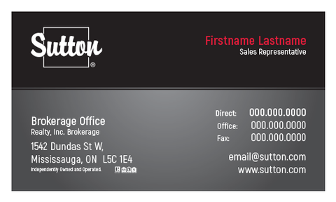 Sutton Business Cards - 007