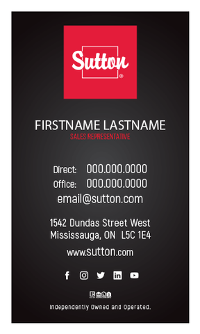 Sutton Business Cards - 009