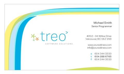 Business Card Template - HDS-01A