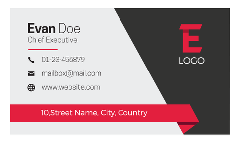 Business Card Template - HDS-38