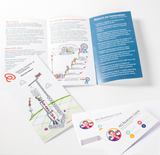 Flyers / Folded Brochure + Business Card Combo Special