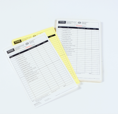 Invoices Business Forms New Era Print Solutions - Half page invoice template