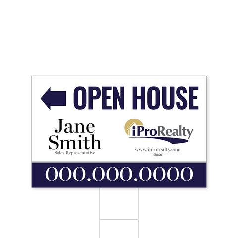 iPro Directional Signs - 1