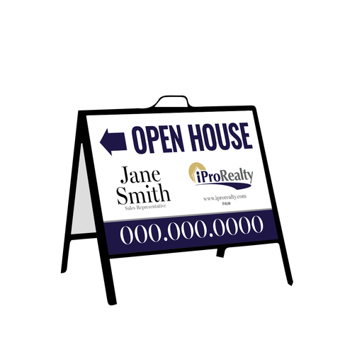 iPro Open House Signs - Inserts - 001
