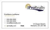 iPro Realty Business Cards - 010