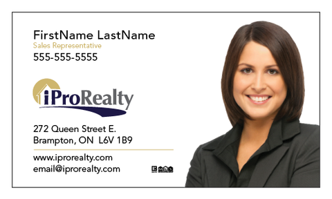 iPro Realty Business Cards - 011
