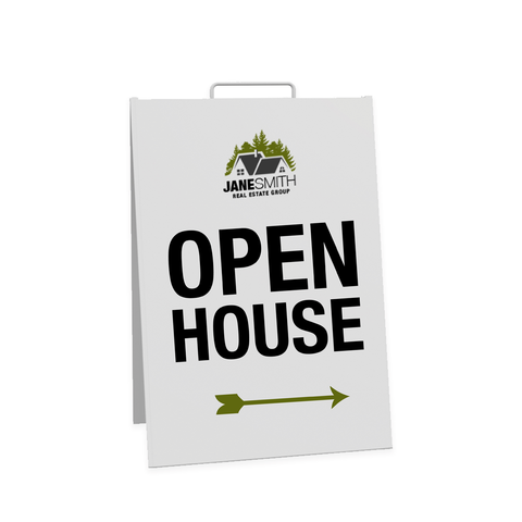 Realtor Open House Signs - Sandwich Board
