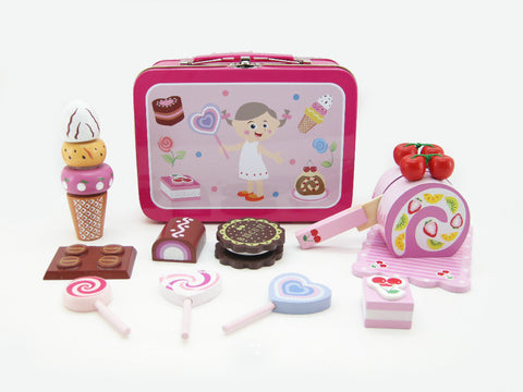 Cake Shop Playset in Tin Carry Case $22.JPG