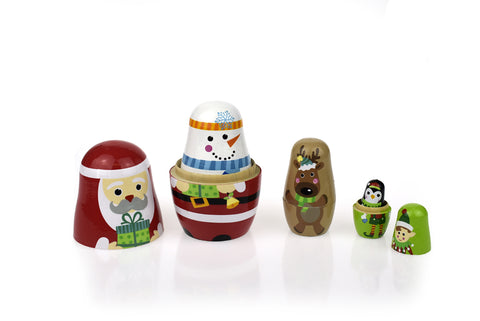 Christmas Stacking Dolls