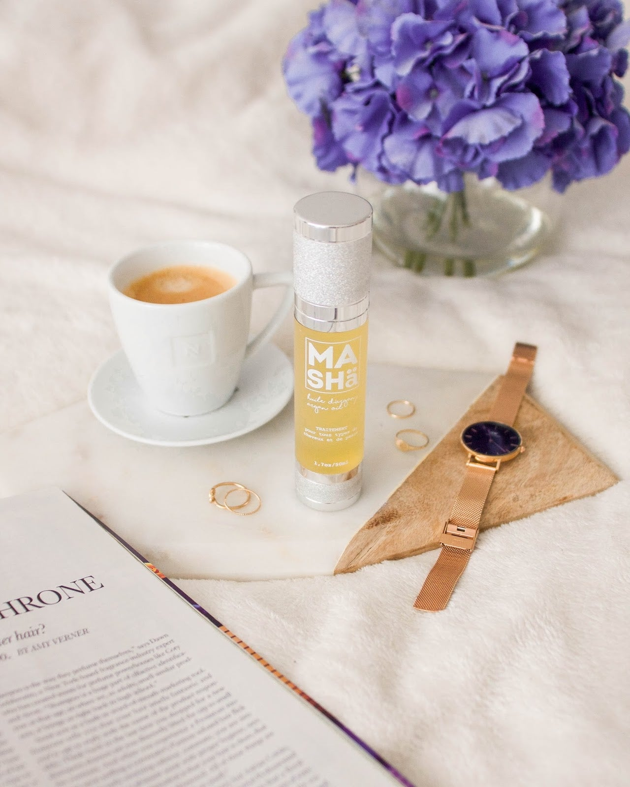 My favorite dry Argan oil! By Katie Cung