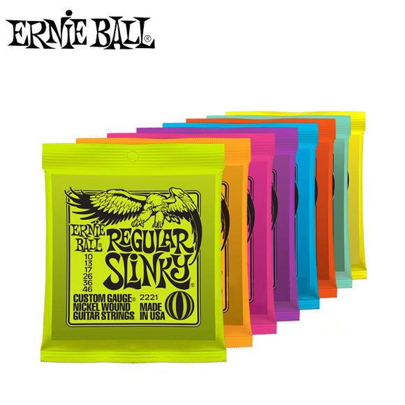 Ernie Ball Electric Guitar Strings Play Real Heavy Metal Rock 2215 2220 2221 2222 2223 2225 2626 2627