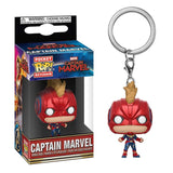 FUNKO POP Pocket Pop Keychain Official Super Hero Anime Characters Action Figure Collectible Model Toys For Gifts With Box