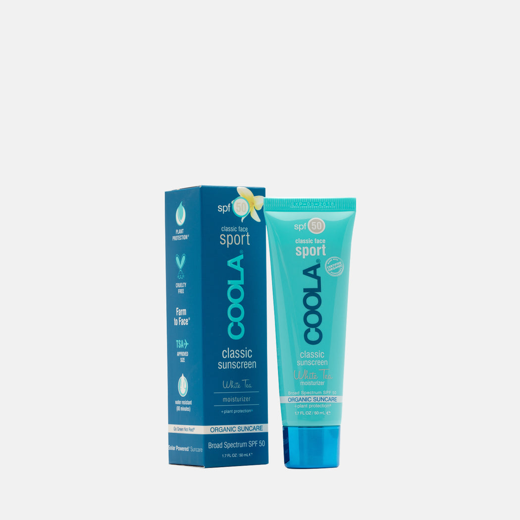 Coola Sport Face SPF 50 White Tea 50ml